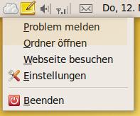 ubuntuone-kontext-tray